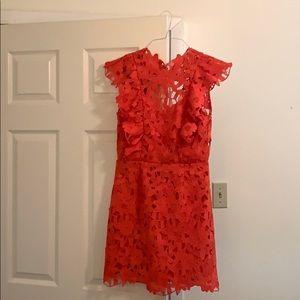 Free People Saylor Belle Lace Shift Mini Dress